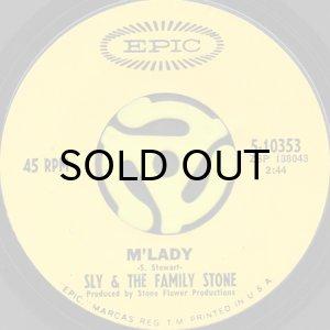 画像1: SLY & THE FAMILY STONE / M'LADY b/w LIFE (45's) (1)