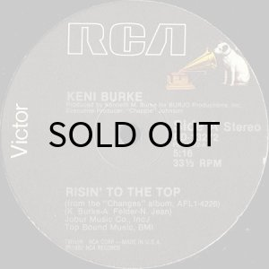 画像1: KENI BURKE / RISIN' TO THE TOP (12) (1)