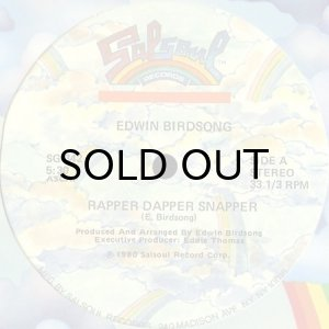 画像1: EDWIN BIRDSONG / RAPPER DAPPER SNAPPER (1)