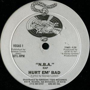 画像1: HURT EM' BAD / N.B.A. RAP (1)