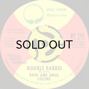 画像1: DAVE AND ANSIL COLLINS / DOUBLE BARREL (SPECIAL EDITED VERSION) (45's) (1)