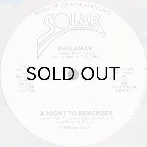 画像1: SHALAMAR / A NIGHT TO REMEMBER (12) (1)