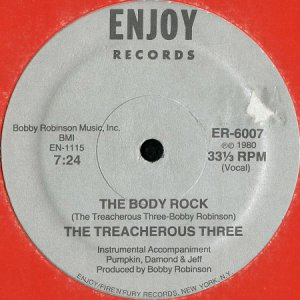 画像1: THE TREACHEROUS THREE / THE BODY ROCK (1)