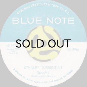 画像1: STANLEY TURRENTINE / SPOOKY b/w LOVE IS BLUE (45's) (1)