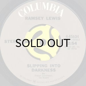 画像1: RAMSEY LEWIS / SLIPPING INTO DARKNESS b/w COLLAGE (45's) (1)