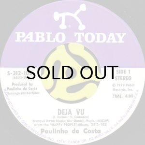 画像1: PAULINHO DA COSTA / DEJA VU b/w LOVE TILL THE END OF TIME (45's) (1)