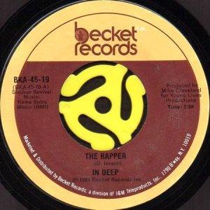 画像1: INDEEP / THE RAPPER (45's) (1)