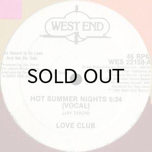 画像1: LOVE CLUB / HOT SUMMER NIGHTS (1)