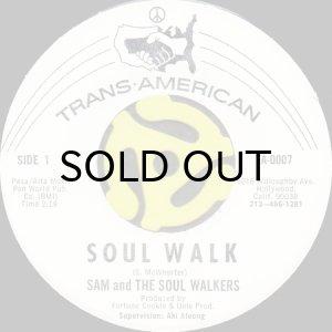 画像1: SAM AND THE SOUL WALKERS / SOUL WALK (45's) (1)