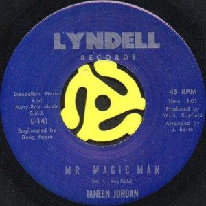 画像1: JANEEN JORDAN / MR. MAGIC MAN (45's) (1)