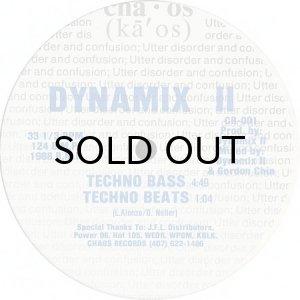 画像1: DYNAMIX II / TECHNO BASS b/w FEEL THE BASS (1)