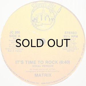 画像1: MATRIX / IT'S TIME TO ROCK (1)