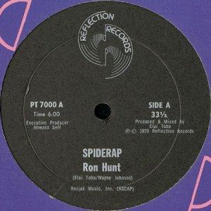 画像1: RON HUNT / SPIDERAP b/w RONNIE G. & THE S.M. CREW / A CORONA JAM (1)