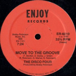画像1: THE DISCO FOUR / MOVE TO THE GROOVE (1)