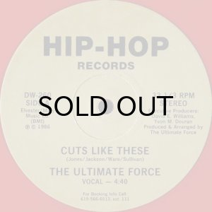 画像1: THE ULTIMATE FORCE / CUTS LIKE THESE (RED VINYL) (1)