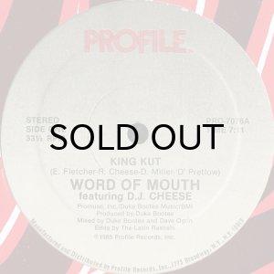 画像1: WORD OF MOUTH feat. D.J. CHEESE / KING KUT (PROFILE) (1)