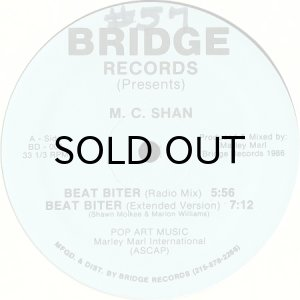 画像1: M.C. SHAN / BEAT BITER b/w THE BRIDGE (1)