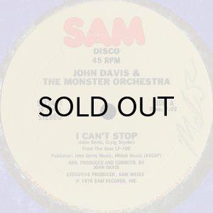 画像1: JOHN DAVIS & THE MONSTER ORCHESTRA / I CAN'T STOP (12) (1)