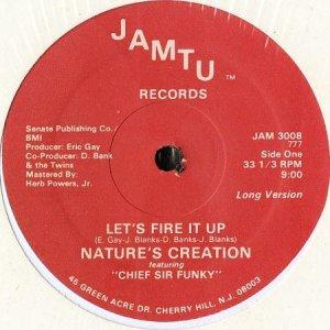 画像1: NATURE'S CREATION feat. CHIEF SIR FUNKY / LET'S FIRE IT UP (12) (1)