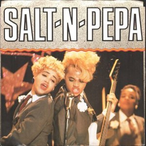 画像1: SALT-N-PEPA / GET UP EVERYBODY (GET UP) (45's) (1)