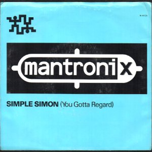 画像1: MANTRONIX / SIMPLE SIMON (YOU GOTTA REGARD) (45's) (1)