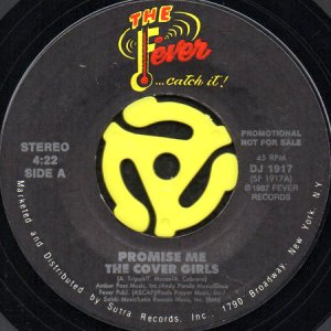 画像1: THE COVER GIRLS / PROMISE ME (45's) (1)