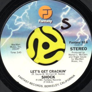 画像1: SHOCK / LET'S GET CRACKIN' b/w SHOCK TALK (45's) (1)
