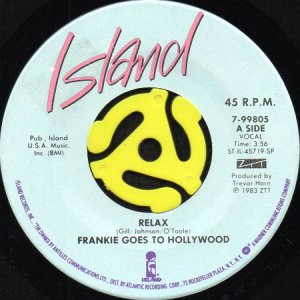 画像1: FRANKIE GOES TO HOLLYWOOD / RELAX (45's) (1)