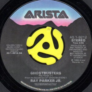 画像1: RAY PARKER JR. / GHOSTBUSTERS (45's) (1)