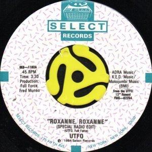 画像1: UTFO / ROXANNE, ROXANNE (45's) (1)