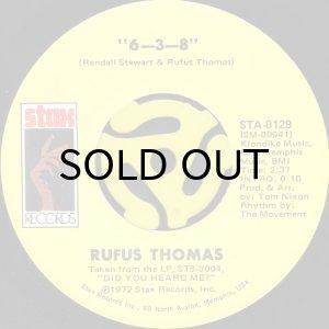 画像1: RUFUS THOMAS / 6-3-8 b/w LOVE TRAP (45's) (1)