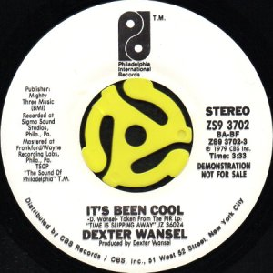 画像1: DEXTER WANSEL / IT'S BEEN COOL (45's) (WHITE PROMO) (1)