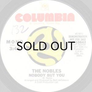 画像1: THE NOBLES / NOBODY BUT YOU (45's) (WHITE PROMO) (1)