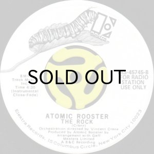 画像1: ATOMIC ROOSTER / THE ROCK (45's) (WHITE PROMO) (1)