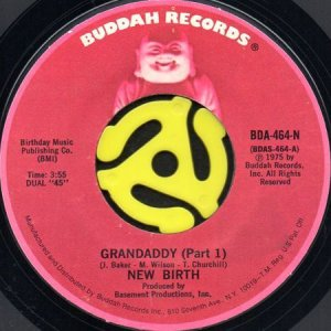 画像1: NEW BIRTH / GRANDADDY (45's) (1)