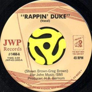 画像1: RAPPIN' DUKE / RAPPIN' DUKE (45's) (1)