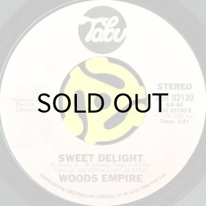 画像1: WOODS EMPIRE / SWEET DELIGHT b/w IN THE NIGHT AIR (45's) (1)