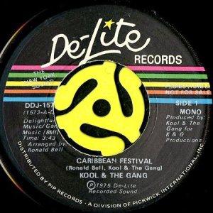 画像1: KOOL & THE GANG / CARIBBEAN FESTIVAL (45's) (PROMO) (1)