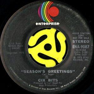 画像1: CIX BITS / SEASON'S GREETINGS (45's) (1)