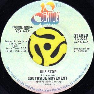 画像1: SOUTHSIDE MOVEMENT / BUS STOP (45's) (PROMO) (1)