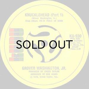 画像1: GROVER WASHINGTON, JR. / KNUCKLEHEAD (45's) (1)