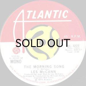 画像1: LES McCANN / THE MORNING SONG (45's) (PROMO) (1)