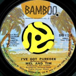 画像1: MEL AND TIM / I'VE GOT PUREDEE (45's) (1)