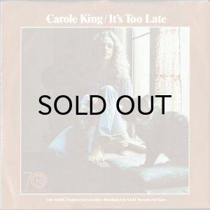 画像1: CAROLE KING / IT'S TOO LATE b/w I FEEL THE EARTH MOVE(45's) (1)