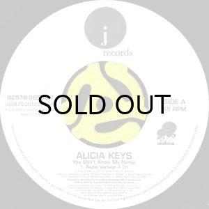 画像1: ALICIA KEYS / YOU DON'T KNOW MY NAME (45's) (1)