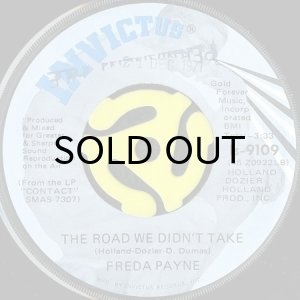 画像1: FREDA PAYNE / THE ROAD WE DIDN'T TAKE (45's) (PROMO) (1)