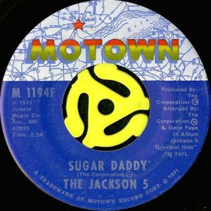 画像1: THE JACKSON 5 / SUGAR DADDY (45's) (1)