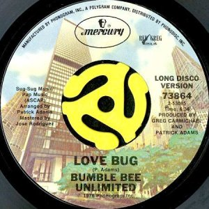 画像1: BUMBLEBEE UNLIMITED / LOVE BUG (45's) (1)