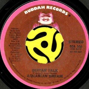 画像1: AQUARIAN DREAM / GUITAR TALK (45's) (PROMO) (1)
