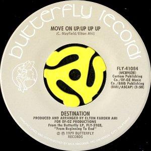 画像1: DESTINATION / MOVE ON UP / UP UP UP (45's) (1)